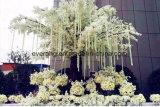 Hochwertige künstliche Glyzinie-Rebe-hängende Blume für Hochzeits-Stadiums-Dekoration