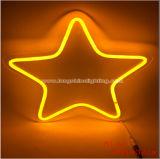 Regalo di festa impermeabile dei bambini della stanza domestica della lampada da parete della decorazione della lampada della Tabella della nube di stella dell'indicatore luminoso di notte dell'indicatore luminoso al neon del LED