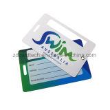 اثنان قطعات بطاقات يستعصي [بفك] حقيبة بطاقة مع شريط واضحة