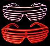 フラッシュ照明ELワイヤーガラス