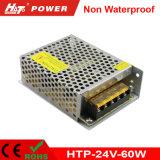 2.5A 60W 24V Transformateur LED AC/DC Htp d'alimentation de puissance de commutation