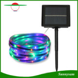 16.4 FT 100 di indicatore luminoso solare decorativo impermeabile flessibile del LED per la festa di natale
