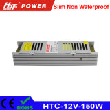150W 12.5A 12V amincissent le bloc d'alimentation de DEL avec la fonction de PWM