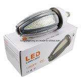 De berijpte van de LEIDENE van de Dekking 80W OpenluchtVerlichting van het Daglicht 4500K van de Tuin Bol E39/E40 van het Graan Lichte IP65