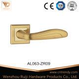 Европейский простой стиль алюминиевых внутренней ручки двери из дерева (AL052-ZR02)