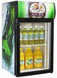 De conventionele Ijskast van de Frisdrank van de Deur van het Glas van de Drank van de Vorst Vrije (jga-SC80)