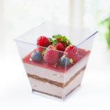 Tazza di plastica del dessert di Kova della tazza del commestibile