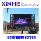 Sinal LED de exterior HD Full Color P8 Visor LED impermeável