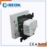 termóstato eléctrico de la calefacción del sitio 16A para el sistema de calefacción de la HVAC