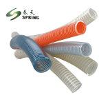 Eau en PVC flexible de vidange d'aspiration flexibles en spirale dans la piscine