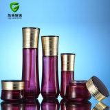Crema de vidrio y botellas de spray Frasco de vidrio