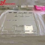 PMMA parte as peças fazendo à máquina do CNC das peças transparentes do PC das peças