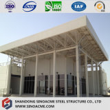 Steel Space Frame Structure for Roof Saw-tooth
