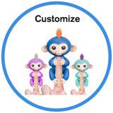 2017 Новый электрический Pet интерактивный детский игрушка Fingerlings кукольных обезьяны