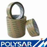 El doble adhesivo de acrílico del tejido echó a un lado cinta con el papel de Kraft