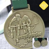 Gli sport su ordinazione di migliore qualità che eseguono il ciclo dello smalto assegna la medaglia