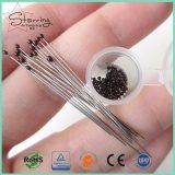 Pin principal en plastique d'insecte de guindineau d'acier inoxydable de 3# Brown pour le ramassage de spécimen