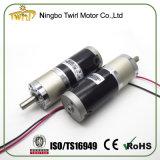 45mm de diámetro 12V 24V DC motorreductor con par alto