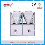Ar modulares para bomba de calor do chiller de agua