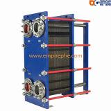 排気ガスによって蒸気を作り出す版の熱交換器