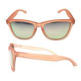 Las mujeres de moda al por mayor gafas de sol con lentes de espejo de lujo