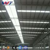 Estructura de acero del equipo del edificio de marco de acero de H para el taller de la maquinaria, almacén