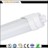 T8 Aluminium 0.6m /1.2m het LEIDENE Licht van de Buis met Ce