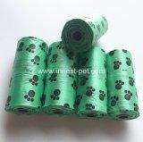 Sacchetto di vendita caldo dello spreco della plastica dei sacchetti di Poop del cane dei prodotti dell'animale domestico