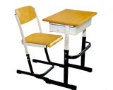 Madera mayorista solo estudiante escritorio y silla (SF-01S)