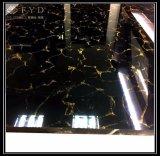 De Zwarte Opgepoetste Tegel Fp6007 van het Porselein 60*60 Pulati