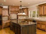 2018 Prima Meubles de cuisine américaine nouvelle armoire de cuisine en bois solide