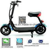 motorino elettrico dell'equilibrio di auto delle 2 rotelle 350W di mobilità della pinsa pieghevole della valvola a farfalla