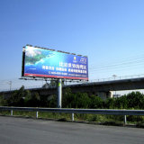 Anti-choque e corrosão Outdoor Advertising Billboard Outdoor Billboard Frame