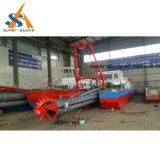 Maschinen-Scherblock-Absaugung-Bagger China-3500m3/H beweglicher Dredgering