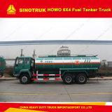 20000-25000 리터 6X4 Rhd Sinotruk HOWO 20cbm 연료유 유조 트럭
