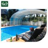 Alliage Auminum, de luxe et grand espace piscine boîtier en aluminium et abris de piscine