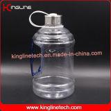 chapeau en plastique en métal d'acier inoxydable de cruche d'eau 1000ml