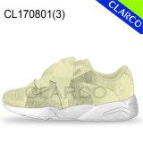 Chaussures de course d'espadrille occasionnelle de sports de femmes avec le haut de toile