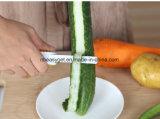 Нож 2 Peeler в одном плодоовощ Peeler двойного бортового многофункционального инструмента кухни Vegetable Shopidea Esg10301