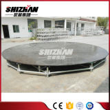 Círculo de acero de aluminio/madera contrachapada de la capa de movible Etapa de buena calidad