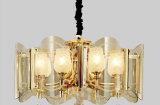 Lâmpada de vidro luxuosa do pendente do estilo europeu (GD18144P)