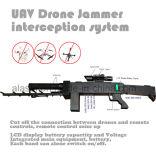 Las bandas 4 forma de pistola láser de infrarrojos del telescopio con aviones no tripulados Uav de interceptación Jammer