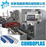 Sin conexión en línea automático doble dos la posición de calentamiento de la tubería de PVC Belling engaste máquina