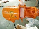 건물 장비 단 하나 샤프트 트롤리를 가진 3 톤 전기 체인 호이스트