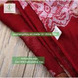 方法女性European 100% Viscoseのスカーフのユリによって印刷されるイスラム教のショール