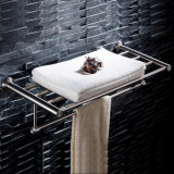Badezimmer-Tuch-Zahnstange des Fabrik-an der Wand befestigte Edelstahl-304
