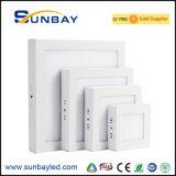 Comitato montato superficie quadrata LED 18W 12W 24W 6W di Foshan