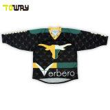 Camiseta personalizada camisetas Hockey sublimación desgaste del deporte