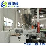 El tubo de plástico de PVC de línea de producción con pulverizador triturador de la máquina de reciclaje