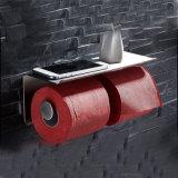 Inoxのステンレス鋼の倍のトイレットペーパーのホールダーの浴室のアクセサリのトイレットペーパーホールダー8821